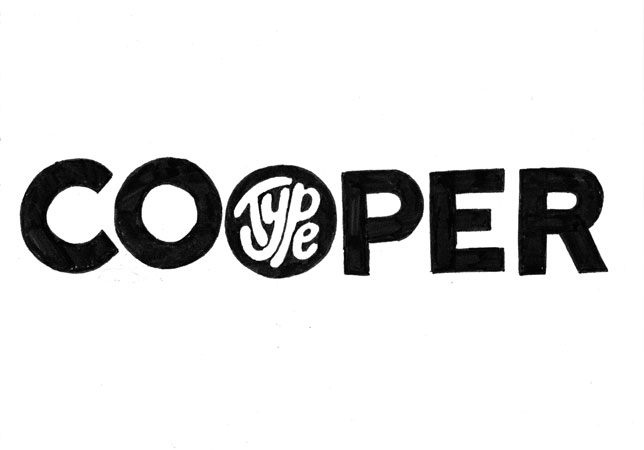 Cooper Type—This Makes Me Happy, Visual Goods