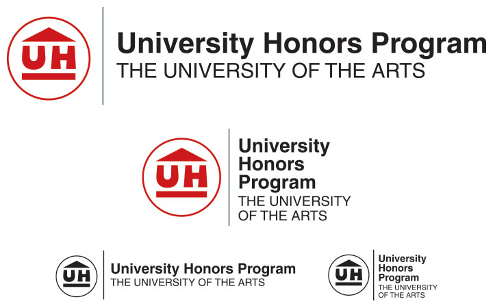 University Honors Program Logo, University of the Arts—This Makes Me Happy, Visual Goods